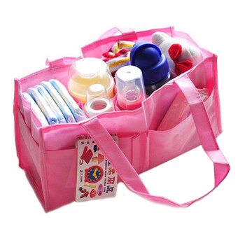 Harga Bluelans New Baby Diaper Nappy Mother Bag Portable Handbag Pink