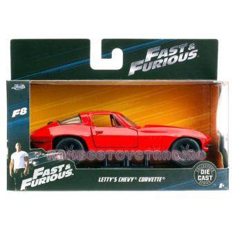 Harga JADA FAST & FURIOUS 8 1:32 LETTY'S CHEVY CORVETTE RED COLOUR LIMITED EDITION-KB24037