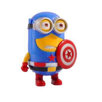 Harga CAPTAIN AMERICA MINIONS PIGGY BANK COIN BOX