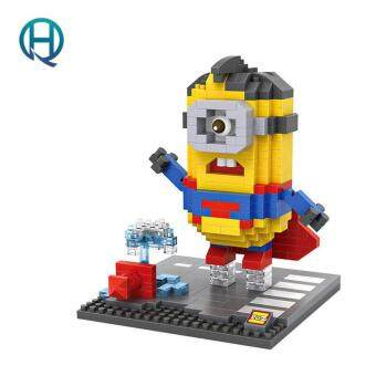 Harga Mini Nano Blocks Minion LOZ Building Blocks The Avengers Superman Figures Diamond Blocks Compatible Legoelieds Toys 9540