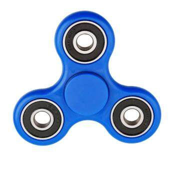 Harga Ai Home Portable Bearing Decompression Tri-spinner Fidget Toy Hand Spinner (Blue)