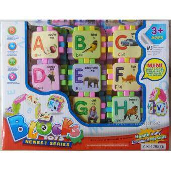 Harga Educational Kids Toys Fun ABC Building Blocks