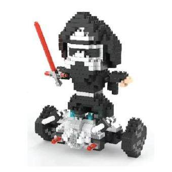 Harga Super Cute Diamond Nano Blocks Series LELE Brother 8253 Darth Vader