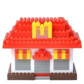Harga McDonald's 2015 FOOD ICONS X Nanoblock (McDonald's Restaurant)