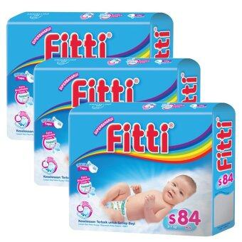 Harga FITTI Tape Diaper Jumbo Pack S84 (3 packs)