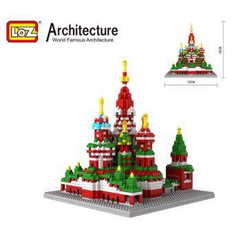 Harga Architecture/Building Series: Vasile Assumption Cathedral Loz 9375 Nano/Diamond Block [Nanoblock]