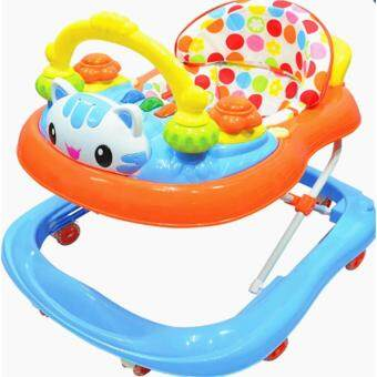 Harga BBH 839-1 Baby Walker With Music (Blue)