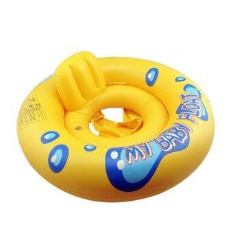 Harga Double Air Bags Baby Inflatable Pool Water Swimming Ring Safety Toddler Aid Float Seat Ring
