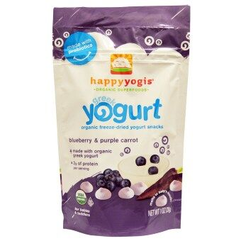 Harga Happy Baby Happy Yogis - Greek Yogurt - Blueberry/Purple Carrot