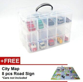 Harga Learning Planet Toy Car Storage Box
