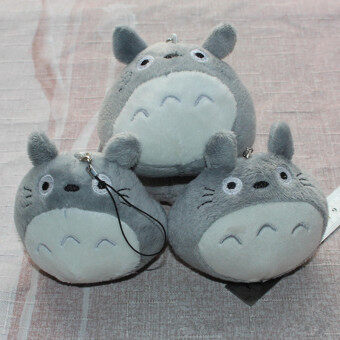 Harga 1PC Kawaii Totoro Plush Stuffed TOY DOLL Phone Charm 7cm