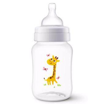 Harga Avent Classic Plus Giraffe Bottle 9oz / 260ml Single Pack