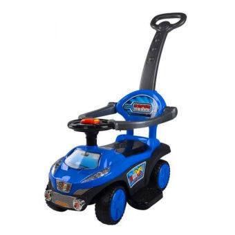 Harga BBH Q03-3 2 in 1 Push Car (Blue)
