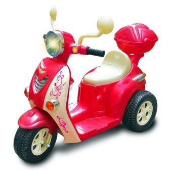 Harga BBH 7377 Electrical Motorcycle (Red)