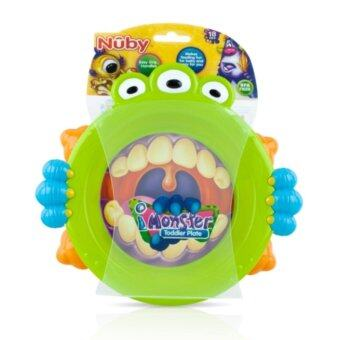 Harga Nuby Monster Toddler Plate