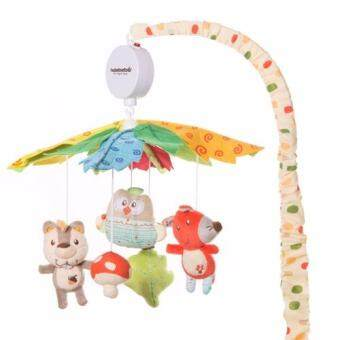 Harga 35 Songs Baby Cot Musical Mobile Baby Toys - Squirrel & Friends (Baby Gift Set)