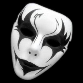 Harga LIFE STORE FRESH Male Halloween Masquerade Painted White Mask Street Dance Mask Mask Of Terror Ghost Step Dance Masks Man Cosplay (ordinary-20)