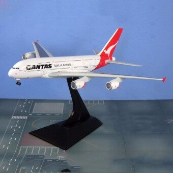 Harga 1/400 Scale 20CM A380 Spirit of Australia Qantas Alloy Aircraft Plane Model