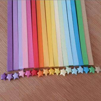 Harga Handcraft Origami Lucky Star Paper Strips Paper Origami Quilling Paper Home Wedding Decoration