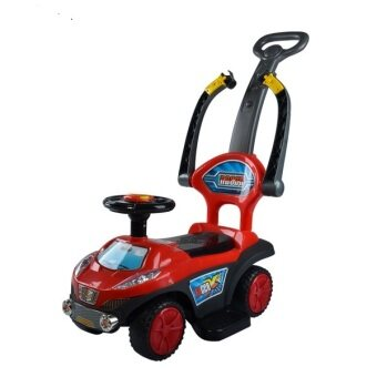 Harga BBH Q03-3 2 in 1 Push Car (Red)