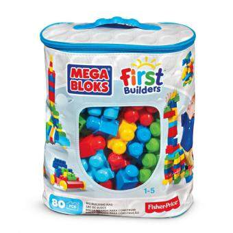 Harga Fisher Price Mega Bloks First Builders 80 Piece Blocks Bag
