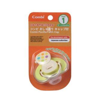Harga [COMBI BABY JAPAN] Pacifier Step 1-GR(0 month-3 month)