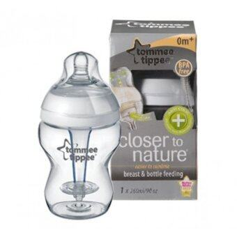 Harga TOMMEE TIPPEE NATURE PP ANTI COLIC PLUS BOTTLE 250ML /9OZ