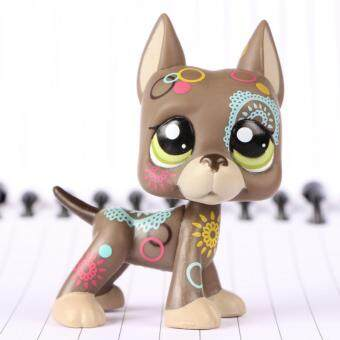 Harga LPS Figure Toy Tattoo Great Dane dog #1439 Collection Figures