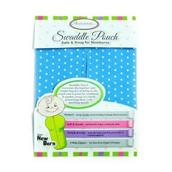 Harga Autumnz - Swaddle Pouch *Marine Dots*