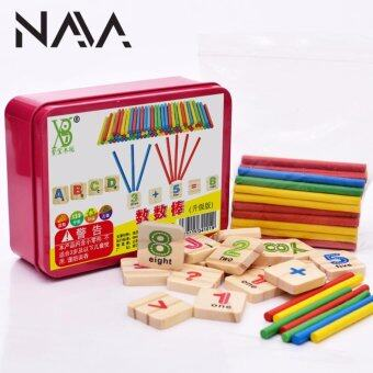 Harga NaVa Children Mathematics Educational Wooden Early Learning Counting Fine Tools