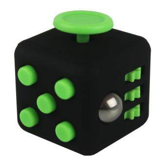 Harga Mini Fidget Cube Toy Vinyl Desk Finger Toys Squeeze Fun Stress Reliever 3.3cm High Quality Antistress Cubo