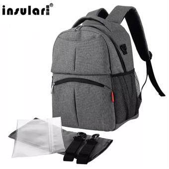 Harga Lan-store Premium Quality Mummy Bag-INSULAR 2017 New Baby Diaper Bag Waterproof Mommy Backpack Baby Stroller Bag