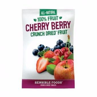 Harga Sensible Foods ALL NATURAL CRUNCH DRIED FRUIT CHERRY BERRY 100% Fruits From Nature/Natural Food/ Healthy Snaks/ Best Buy