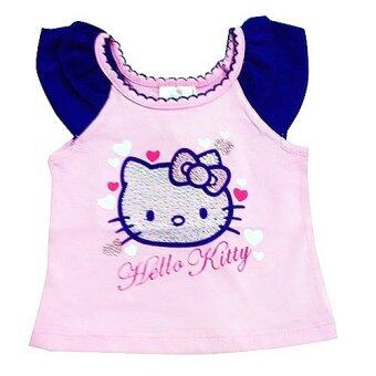 Harga Hello Kitty fancy Short Sleeve Top (Pink)