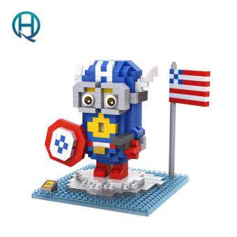 Harga Mini Nano Blocks Minion LOZ Building Blocks The Avengers Captain America Figures Diamond Blocks Compatible Legoelieds Toys 9537