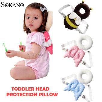 Harga SOKANO Toddler Head Protection Cushion Pad- Pink