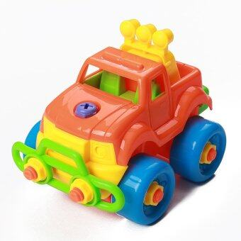 Harga Puzzle Building Toys Develop Learning Fun Tools NEW EDS Build A Train Kids Toy Car