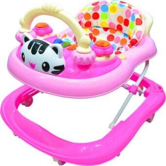 Harga BBH 839-1 Baby Walker With Music (Pink)