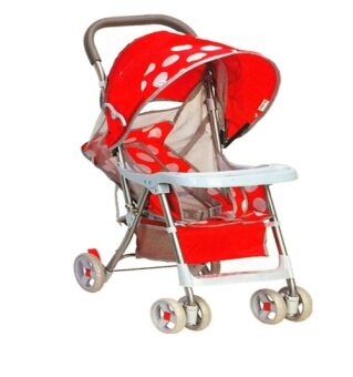 Harga BBH 186 Premium Light Stroller (RED)