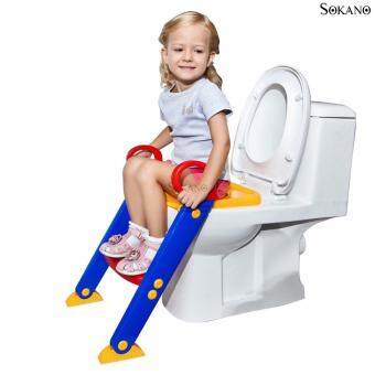 Harga SOKANO Foldable Toilet Training Kit With Ladder