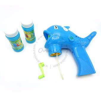 Harga Dolphin Design Bubble Gun For Outdoor Fun - Blue