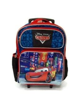Harga Disney Pixar Cars Trolley School Bag 18 Inches
