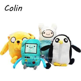 Harga Adventure time Plush Toys Jake Finn Beemo BMO Penguin Gunter Stuffed Animals Plush Dolls Soft Toys WJ184
