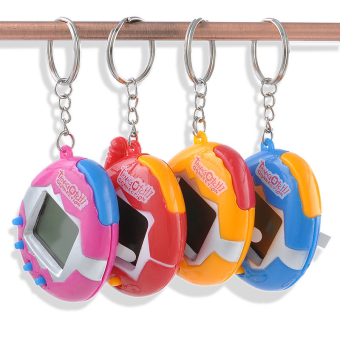 Harga Nostalgic 90S Electronic Tamagotchi 49 Pets in One Virtual Cyber Pet Keychain