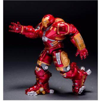 Harga The anime Avengers 2 hulkbuster iron man robot joint movable light-emitting toys