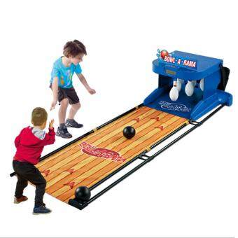 Harga NaVa Children Indoor Electronic Complete Bowling Training Game Play Set