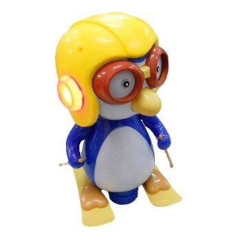 Harga BO Baby Toy Happy Penguin Skiing Toy With Music & Light