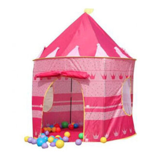 Harga Portable Folding Kids Play Tent Castle Cubby House (Pink)
