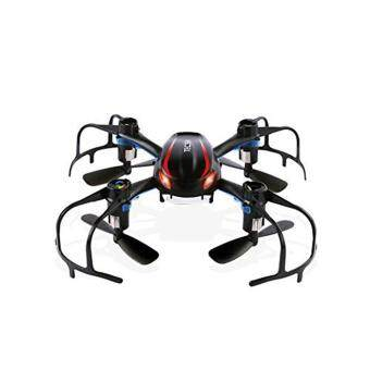 Harga MOON STORE MJX X902 Mini RC Drone Helicopter 2.4GHz Radio Control RC Quadcopter LED Night-Lights (Black)