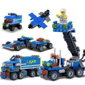 Harga UINN DIY Truck Set Series Toy Truck Building Building Blocks Set Toy DIY Fun